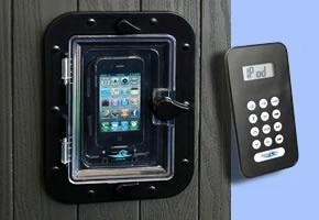 جهاز Iphone للسبا وحوض الاستحمام الساخن ، علبة Ipod ، نظام android ، مخرج مقاوم للماء للسبا في الهواء الطلق