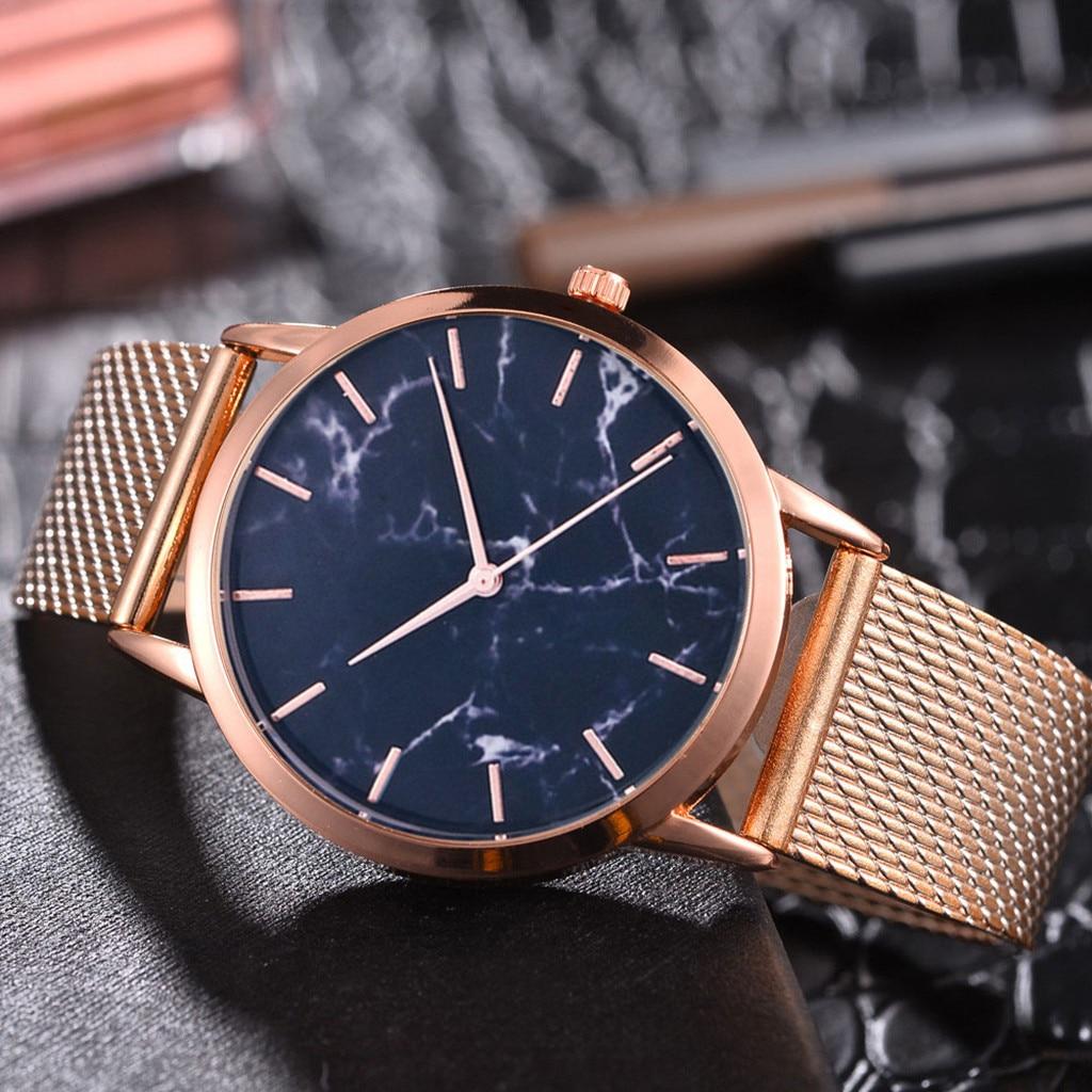 Reloj de lujo de marca famosa Womern, correa de malla de Gel de sílice para mujer, reloj informal Geneva, malla correa de reloj Simple, mecanismo de reloj