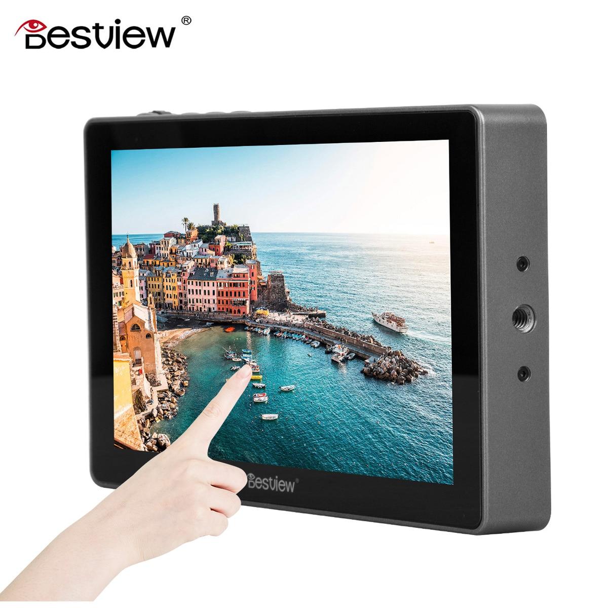 Bestview R7 7 pulgadas 1920x1200 cámara de vídeo DSLR Monitor para Canon Nikon Sony Panasonic 4K HDMI Monitor LCD completamente táctil pantalla