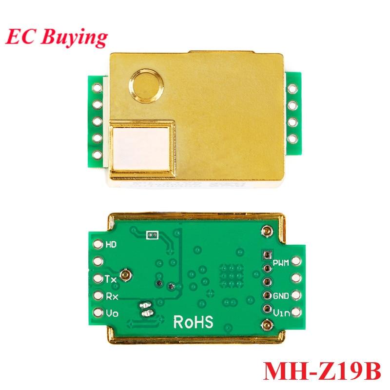 MH-Z19 Infrarot CO2 Sensor Modul MH-Z19B Kohlendioxid Gas Sensor für CO2 Monitor 0-5000ppm MH Z19B
