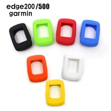 Sortie dusine vélo Silicone housse étui de protection pour Garmin Edge 200/500/520/800/1000 série vélo ordinateur accessoires