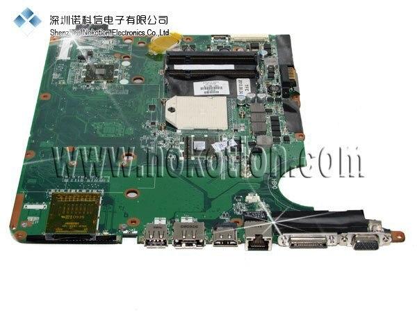 NOKOTION 571186-001 placa base para portátil HP DV6 DDR2 placa base de prueba