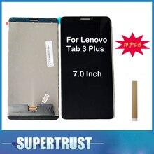 "10 unids/lote 7,0 ""para Lenovo Tab 3 Plus 7703X TB-7703X ZA1K0070RU pantalla LCD y pantalla táctil de reemplazo Color negro"