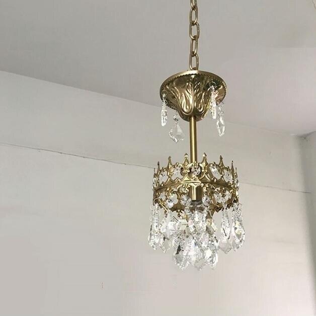 Fer Vintage lumière LED suspension lampe nordique Loft industriel pendentif lumières rétro Hanglamp chambre à manger maison luminaires