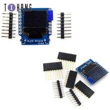 Pantalla Oled I2C de 0,66 pulgadas para Wemos, 64X48, IIC, pantalla LCD OLED para Arduino, Compatible con WeMos D1 Mini, SSD1306, escudo OLED