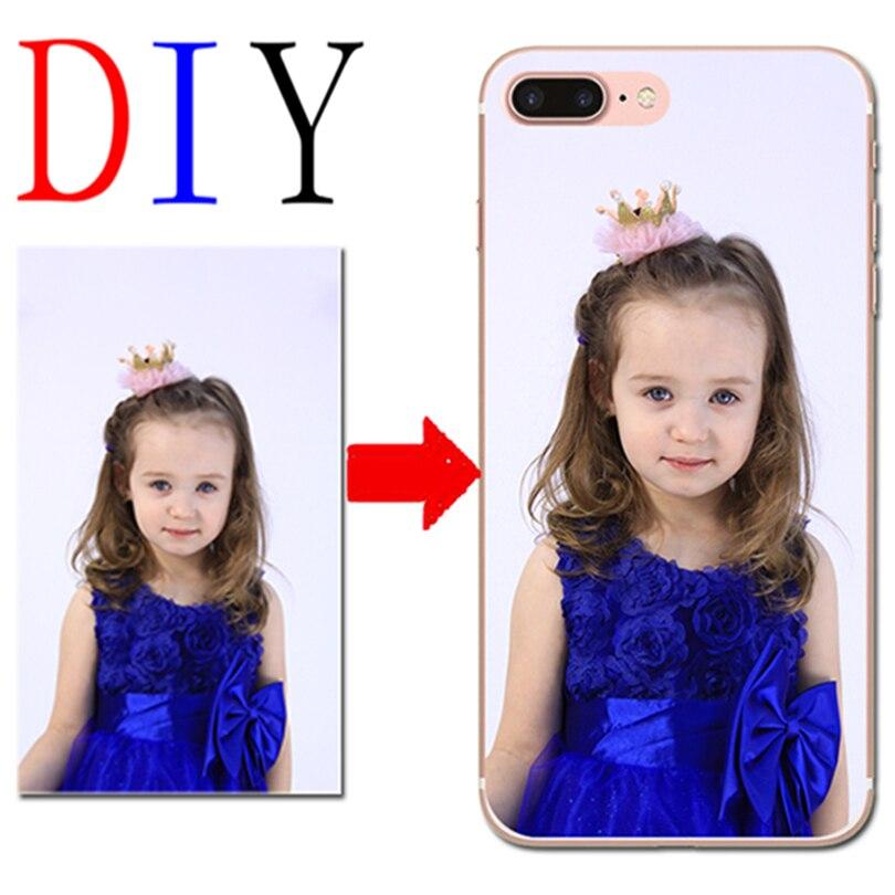 DIY Photo Phone Case For Sony Xperia X XA1 Plus Ultra Z2 Z3 Z4 Z5 XZ1 Compact XZ Premium L1 Customized Design Cover For iphone
