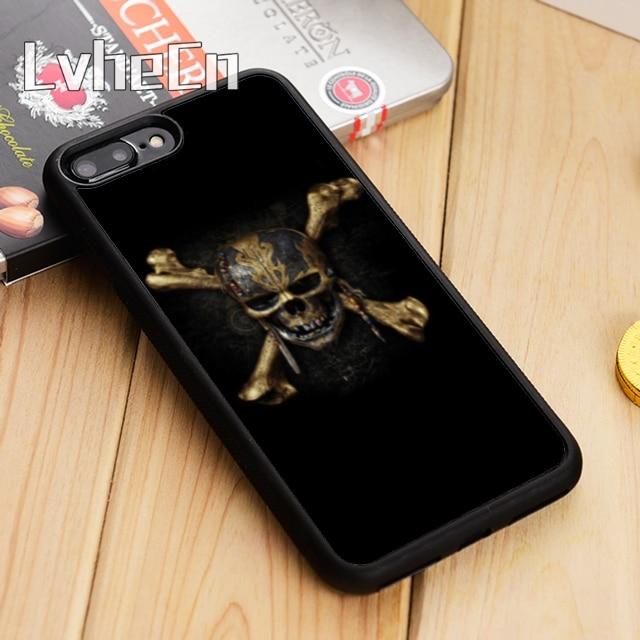 LvheCn Piratas del Caribe de la cubierta de la caja del teléfono para el iPhone 5 se 6 6s 7 7 8 plus 11 pro X XR XS Max Samsung Galaxy S6 S7 borde S8 S9 S10