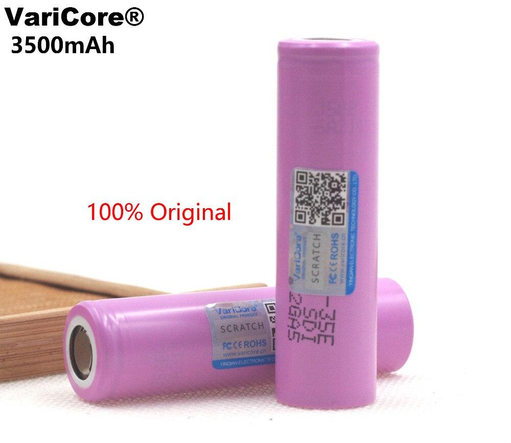 Batería original de litio VariCore 35E 18650, 3500mAh, 3,7 v, 25a, alta potencia, INR18650, 35E para juguetes de herramientas eléctricas Samsung