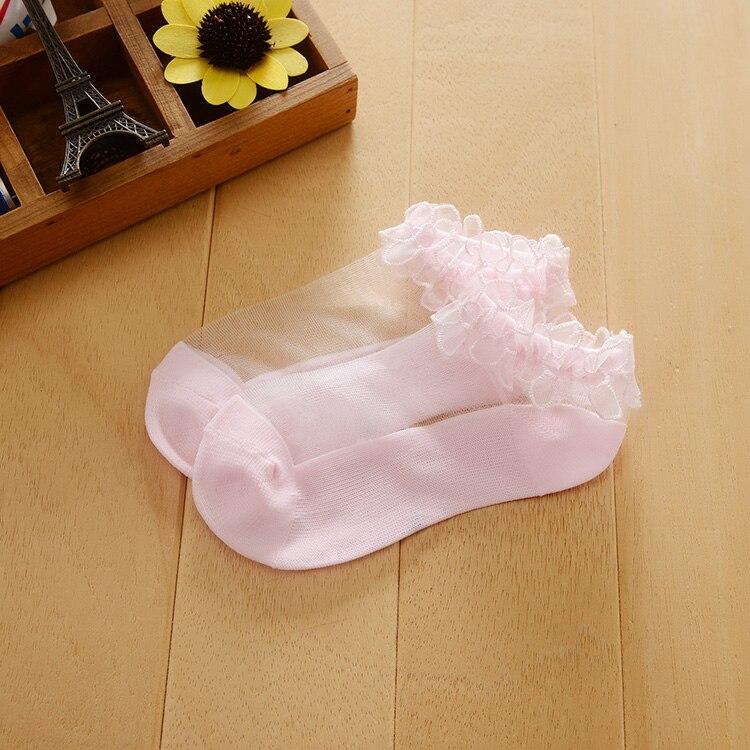 3 par/lote Primavera Verano bebé suave malla ventilar Calcetines Bajos niños niñas Algodón puro cómodos bajos bonitos calcetines Liner