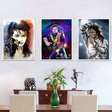 5D diamant broderie Michael Jackson bricolage diamant peinture plein diamant mosaïque cadeau de noël diamant photo décor à la maison