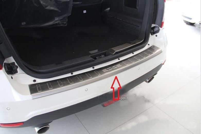 Задний бампер протектор Подоконник Накладка подходит для FORD EDGE 2,0 T 3.5L 2011 2012 2013