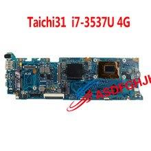 Pour Asus Taichi31 Taichi 31 carte mère 60NB0080-MBA010 i7-3537U 4G carte mère 100% testé OK
