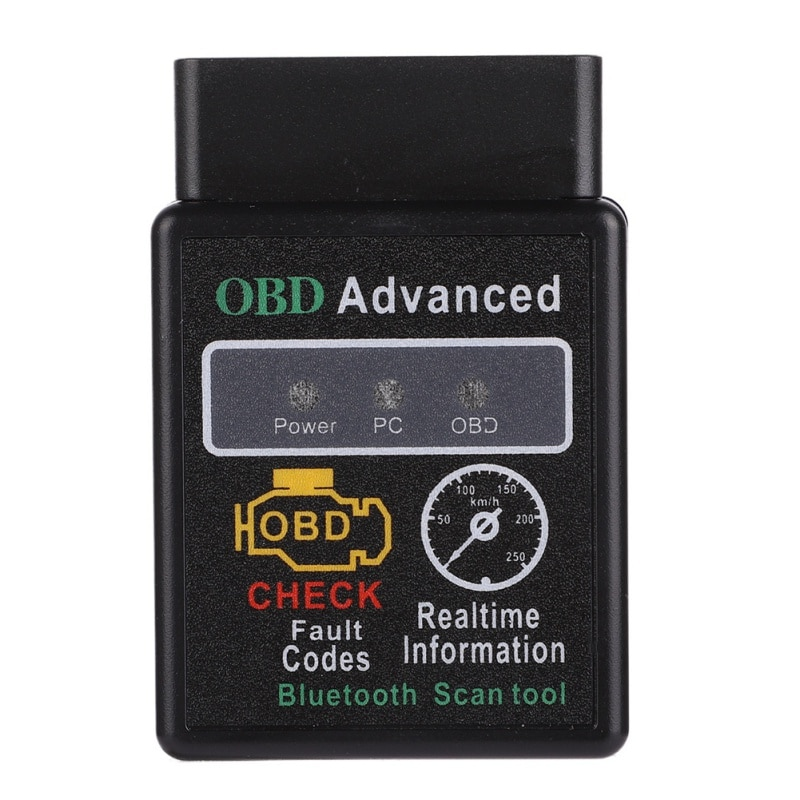 Super mini elm327 v1.5 obd2 scanner elm 327 bluetooth 2.0 ferramenta de diagnóstico do carro inteligente