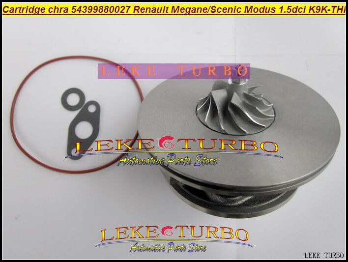 Envío Gratis cartucho TURBO CHRA KP39 54399880027 54399700027 turbocompresor para Renault Kangoo Megane escénico II Modus K9K-THP 1.5L