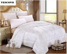 100% Chinese Natural/Mulberry Silk Comforter for Winter/summer Duvet/Blanket/Quilt  Filler