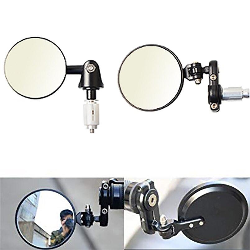 2 uds moto rcycle espejo retrovisor lateral espejo para honda nc750x cbr 500x 600rr msx zoomer hnoda moto piezas mono dio
