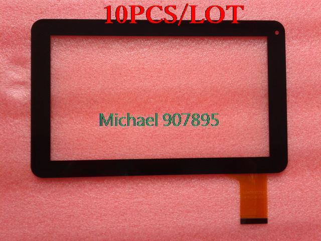 "10 piezas ""original new"" 9 pulgadas panel de pantalla táctil de vidrio VTC5090A03 nota tamaño y color"