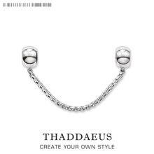 Perles sauver chaîne classique, 925 perles en argent Sterling pour Bracelet Thomas collier Karma breloques bijoux européens accessoires