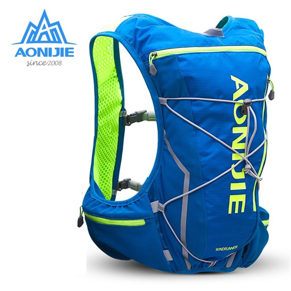 AONIJIE E904S 10L, mochila para deportes al aire libre, Running, Maratón, senderismo, hidratación, chaleco, paquete para 2L, bolsa de agua, bolsas para ciclismo, senderismo