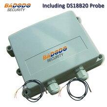 Badodo Outdoor 3G GPRS Water Proof Temperature Data Logger IP67 Temp Recorder Logger Alarm S261 with 2pcs DS18B20 Sensor Alarm