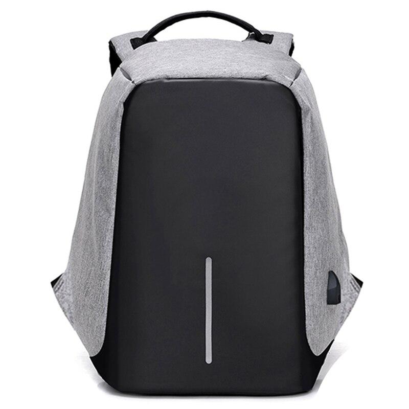 Mochila portátil de 15 polegadas masculino carregamento usb mochila de viagem mochila escolar para homem mochila multifuncional anti-roubo