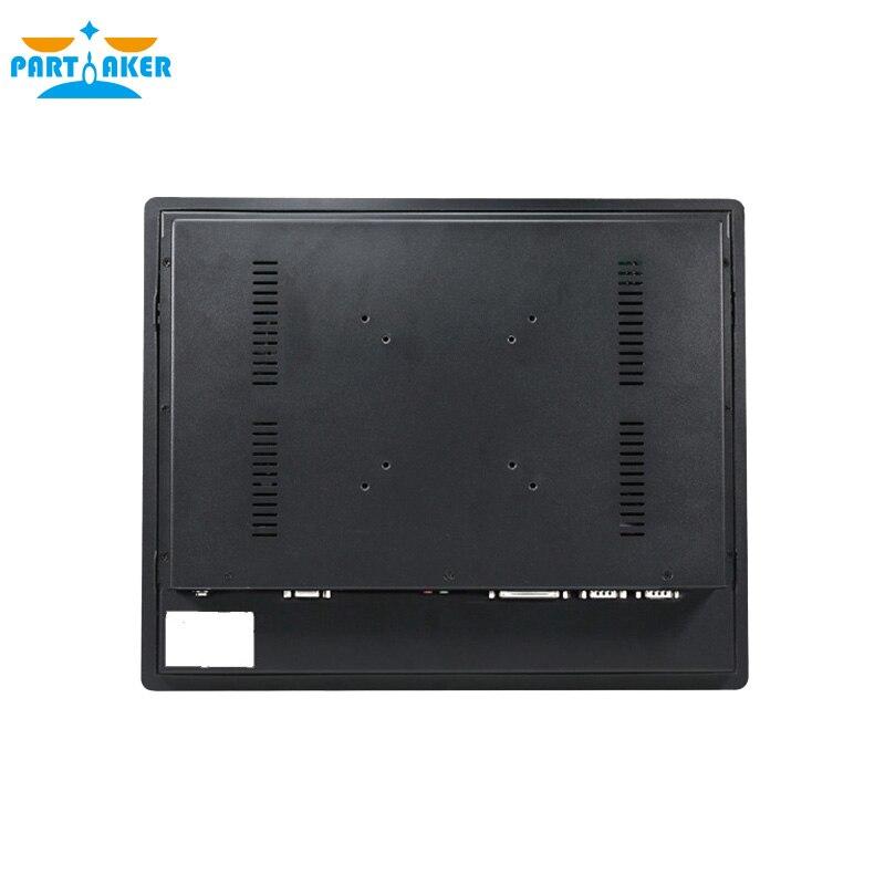 Z14 Fan Embedded 15 Inch Touch Screen Barebone All In One i5 3317U Processor Industrial Panel PC 4G RAM 64G SSD enlarge