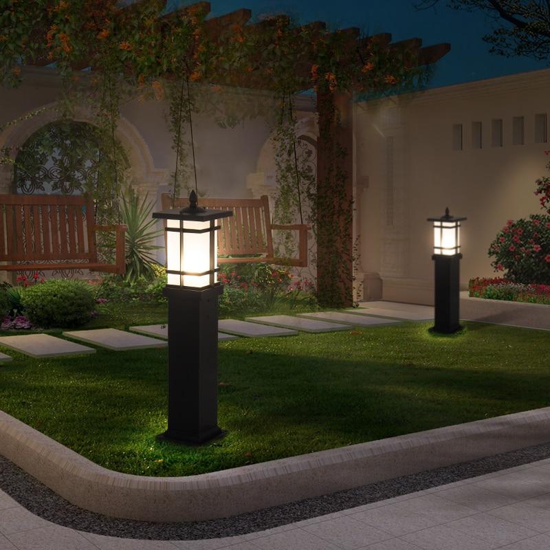 Pillar lamp outdoor doorpost lamp outdoor waterproof garden villa lawn lamp lawn landscape garden lamp enlarge