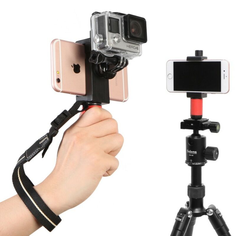 Mini Handheld Video Stabilizer Steadicam Grip For Mobile Phone GoPro Hero HD UK