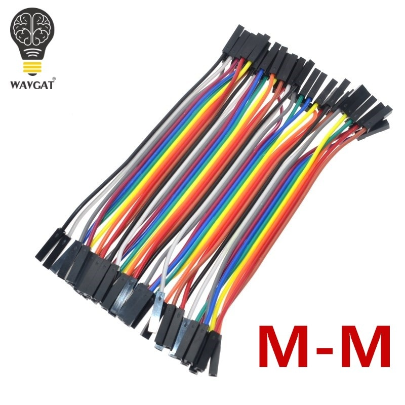 10pcs lot 5pin 100cm m m m f f f dupont cable jumper wires for electronic diy experiment breadboard for uno r3 kits SUQ  40PCS Dupont 10CM Female To Female (F-F) Jumper Wire Ribbon Cable for Arduino
