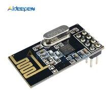 Module sans fil NRF24L01   1 pièce, antenne 2.4GHz, émetteur sans fil 125 canaux avec 8 broches pour microcontrôleur 1.9V-3.6V
