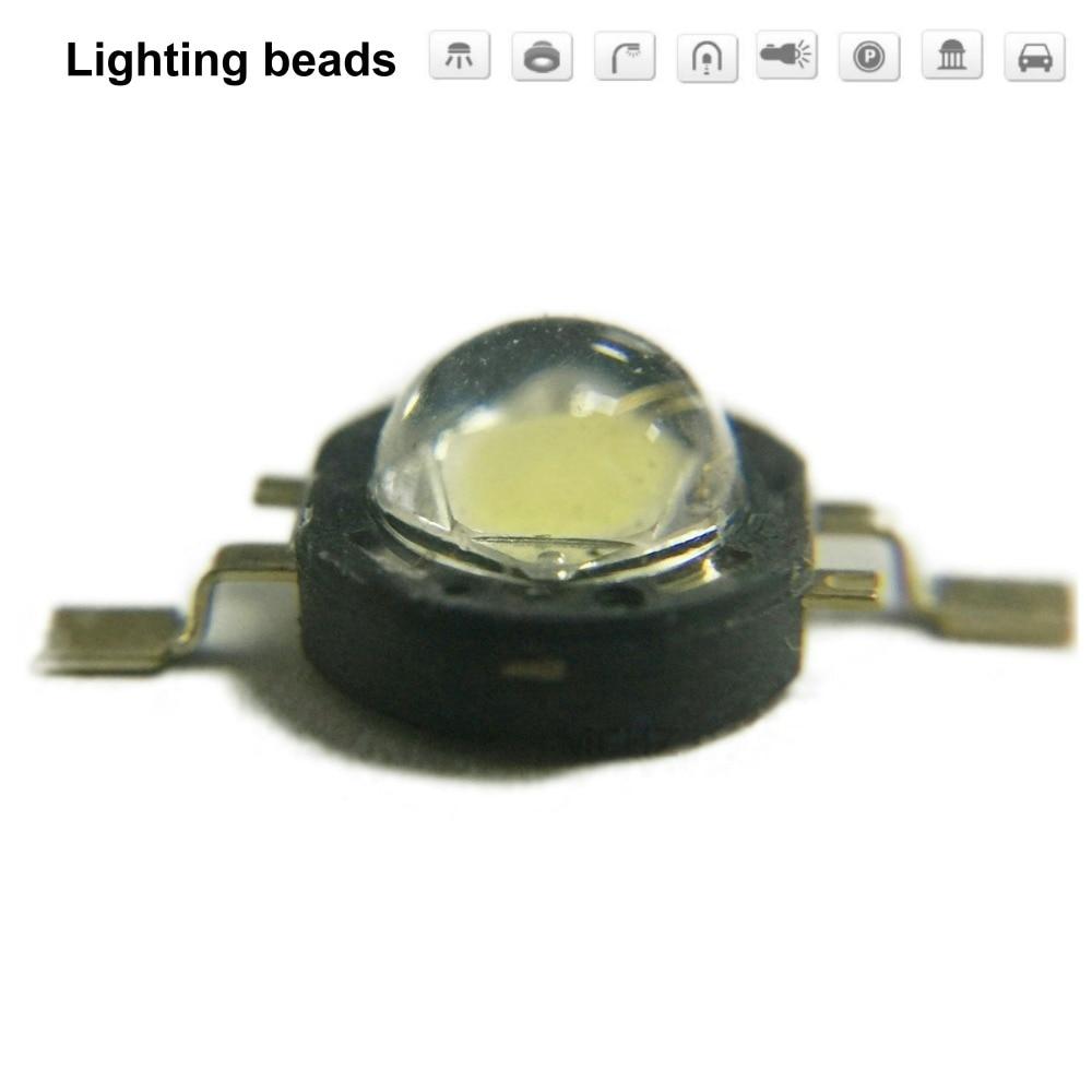 40 шт. 1 Вт 2 Вт 3 Вт светодиодные лампы высокой мощности SMD чистый белый теплый белый синий X W42180 CRI80