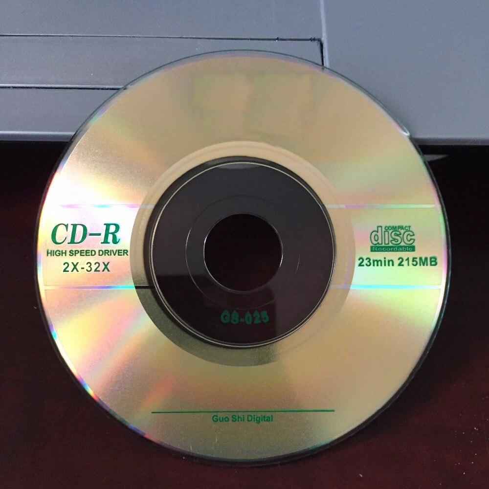 Wholesale 10 Discs Grade A 215 MB 32x Blank Printed 8 cm Mini CD-R Disc