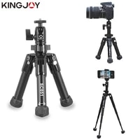 kingjo official sc051 mini camera table tripod for phone gorillapod mobile tripe para movil aluminum tripode stand selfie stick