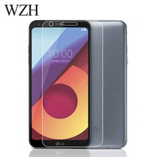 WZH Tempered Glass LG Q6 Screen Protector LG Q6 alpha Q6a Q 6 a M700 Screen Protector Glass Protecti