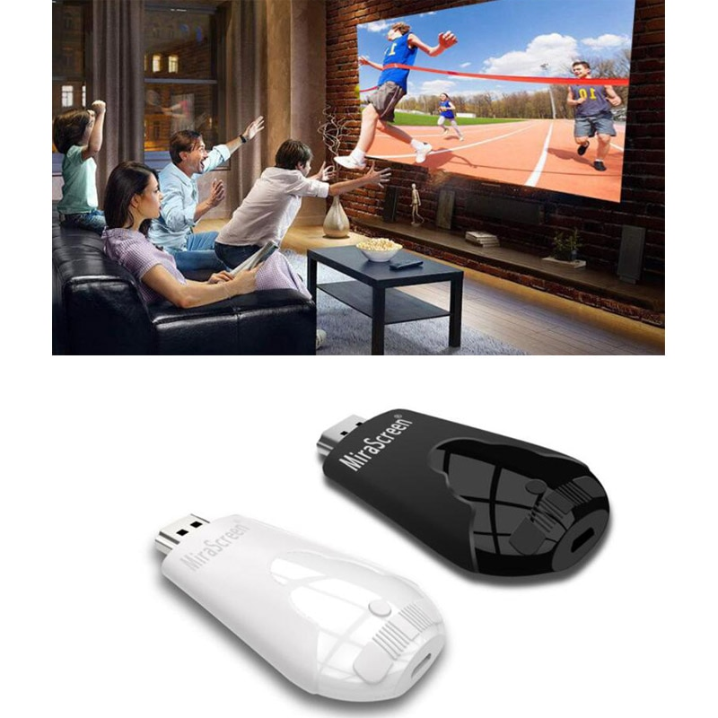 1PCS K4 TV Stick Wireless WiFi Display Dongle Support 1080P HD Miracast Airplay DLNA For Android IOS