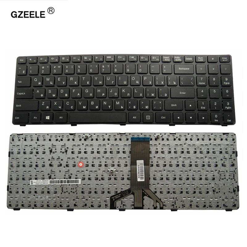 Teclado del ordenador portátil para LENOVO 15ibd 100-15 100-15IBY 100-15IBD 300-15 B50-10 B50-50 serie RU diseño portátil reemplazar teclado