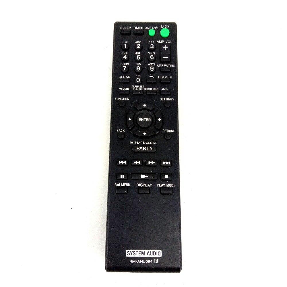 Original RM-ANU094 for Sony WiFi Network System Audio Remote Control for NAC-SV10i Fernbedienung