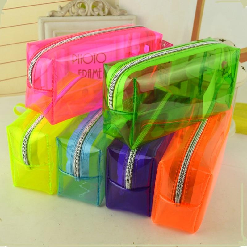 Simple estojo escolar menina fashion pencil cases Candy colors estuche escolar papelaria material escolar pencil box pencilcase