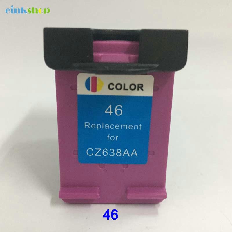 46xl Einkshop substituição do Cartucho de Tinta compatível Para HP 46 para Impressora DeskJet 2029 2529 4729 2020hc 2025hc 2520hc 46 xl tinta
