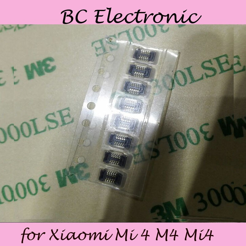 Interruptor de Volume Power on/off FPC conector para Xiao mi mi 4 M4 mi 4 lógica na motherboard frete Grátis; 5 pçs/lote