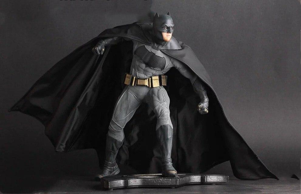 HKXZM película 25CM Batman V Superman amanecer de la justicia Batman 1/6 escala th PVC figura coleccionable juguete modelo regalo