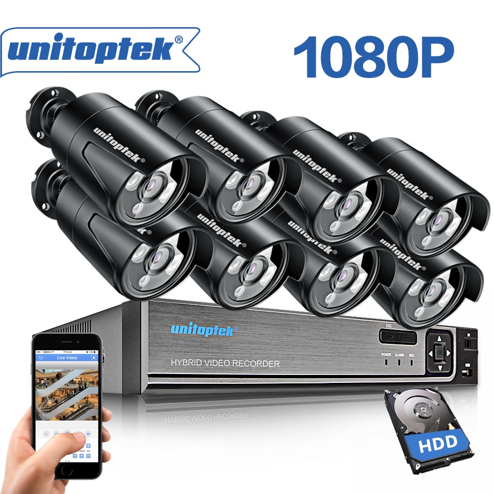 Sistema POE 8CH 1080P 2MP 3000TVL POE cámara IP P2P nube 8CH 4MP 48V NVR POE Sistema de CCTV visión nocturna Kit de videovigilancia