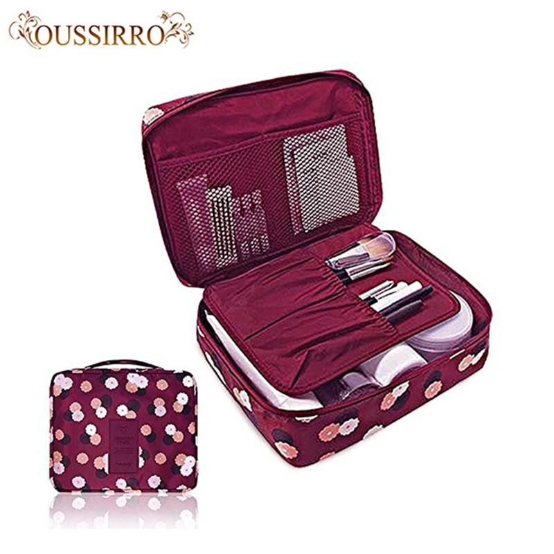 Модные нейлоновые косметички для путешествий, водонепроницаемые косметички, органайзер для ванной, Женская Портативная сумка для мытья банных крючков