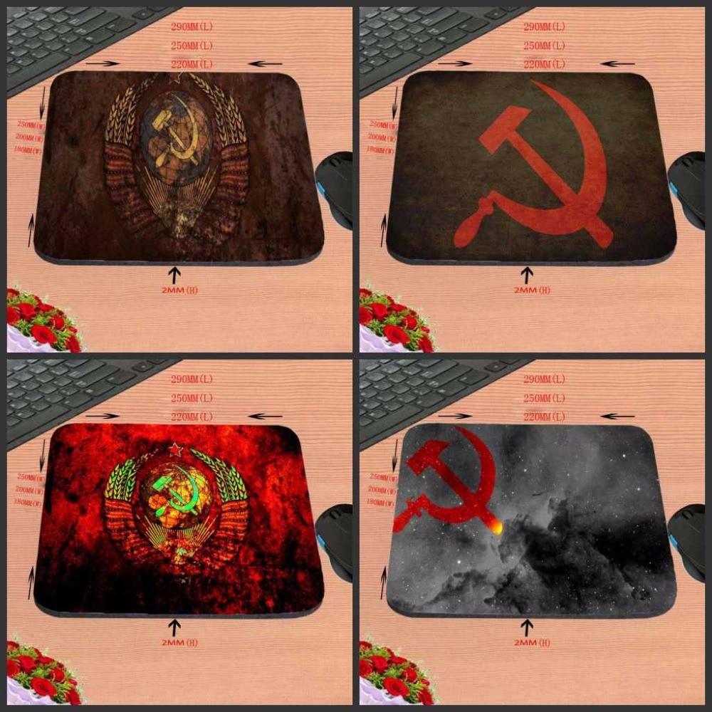 Congsipad Venta de alfombrilla de ratón personalizada de la mejor calidad Bandera Roja gran venta alfombrilla de ratón de goma antideslizante 18x2 2/25x2 0/29x25 Pad Gaming
