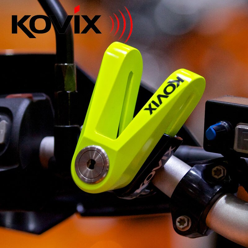 Nuevo cierre de disco de freno impermeable KOVIX para motocicleta
