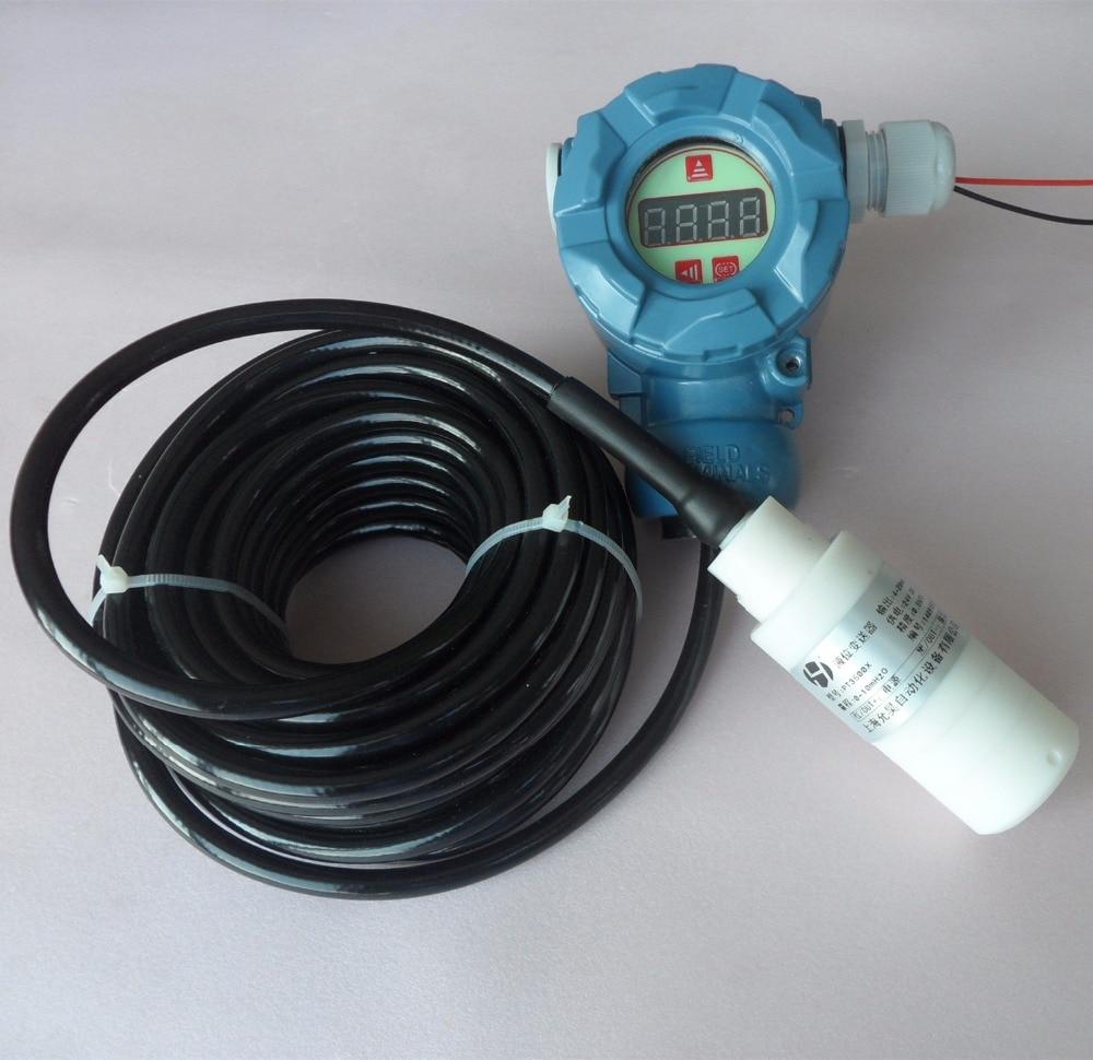 PT3500 anticorrosion type input level transmitter putting-into-type liquid level meter PTFE anticorrosion
