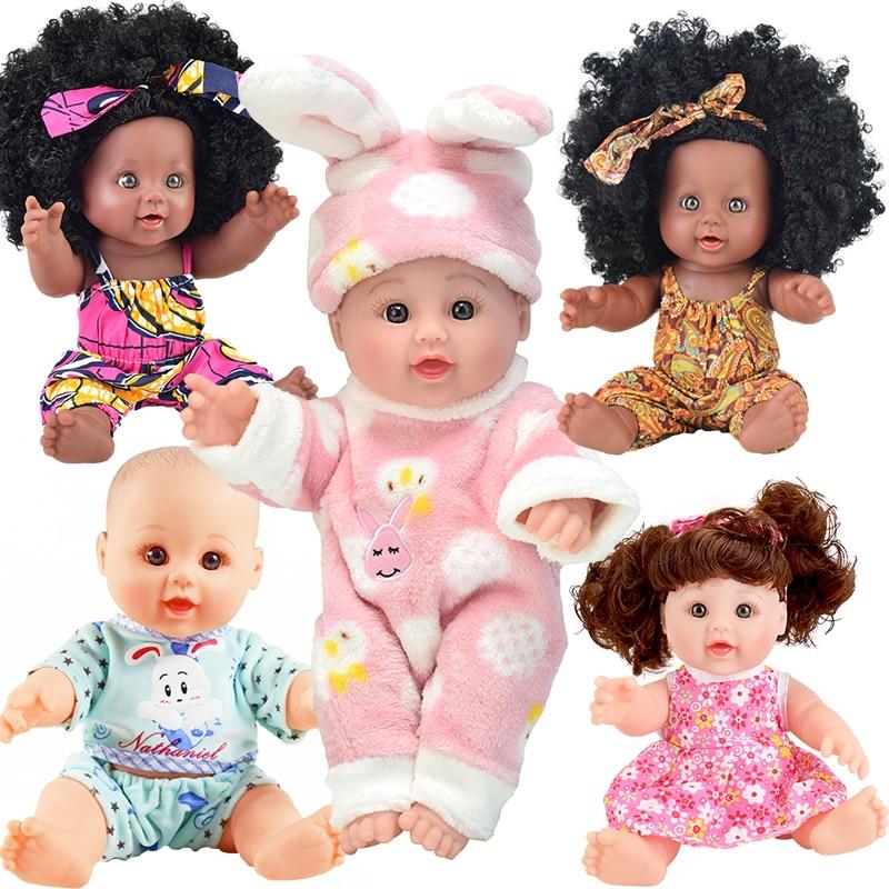 bunny reborn baby dolls 12inch fashion  silicone vinyl poupee boneca toy girl kid alive doc mcstuffins toddler  the nightmare