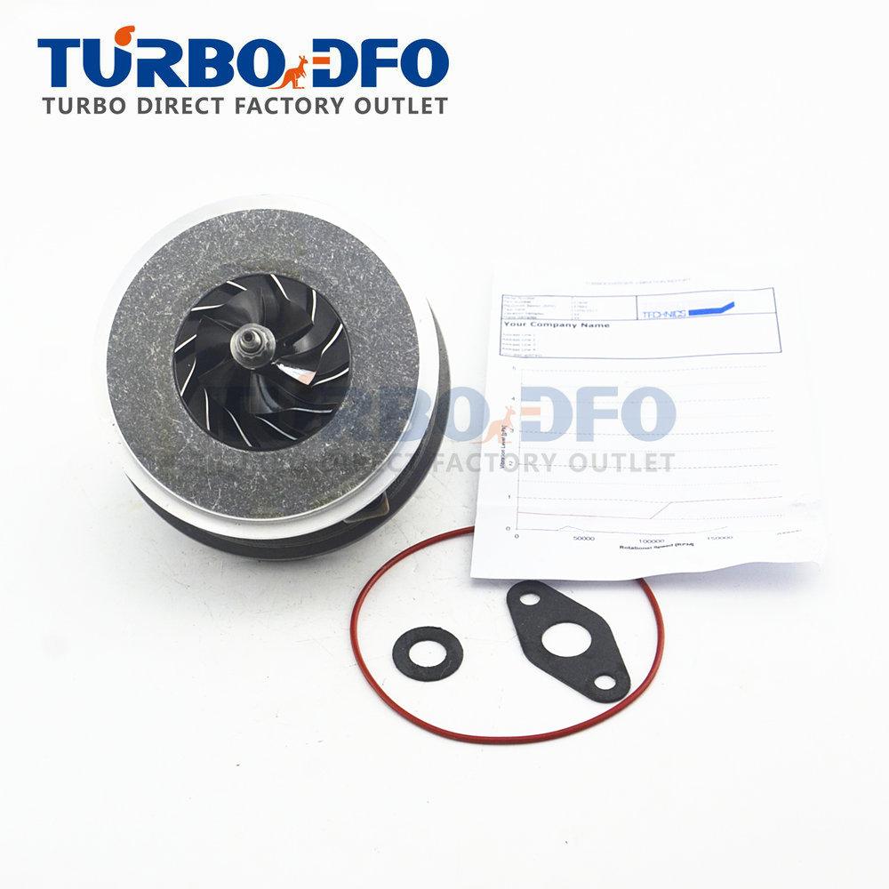 Nuevo CHRA 717858 para Skoda Superb 130 HP 96 Kw 1.9TDI AWX AVF-717858-0001 núcleo de turbina equilibrado 716215 cartucho Garret turbo