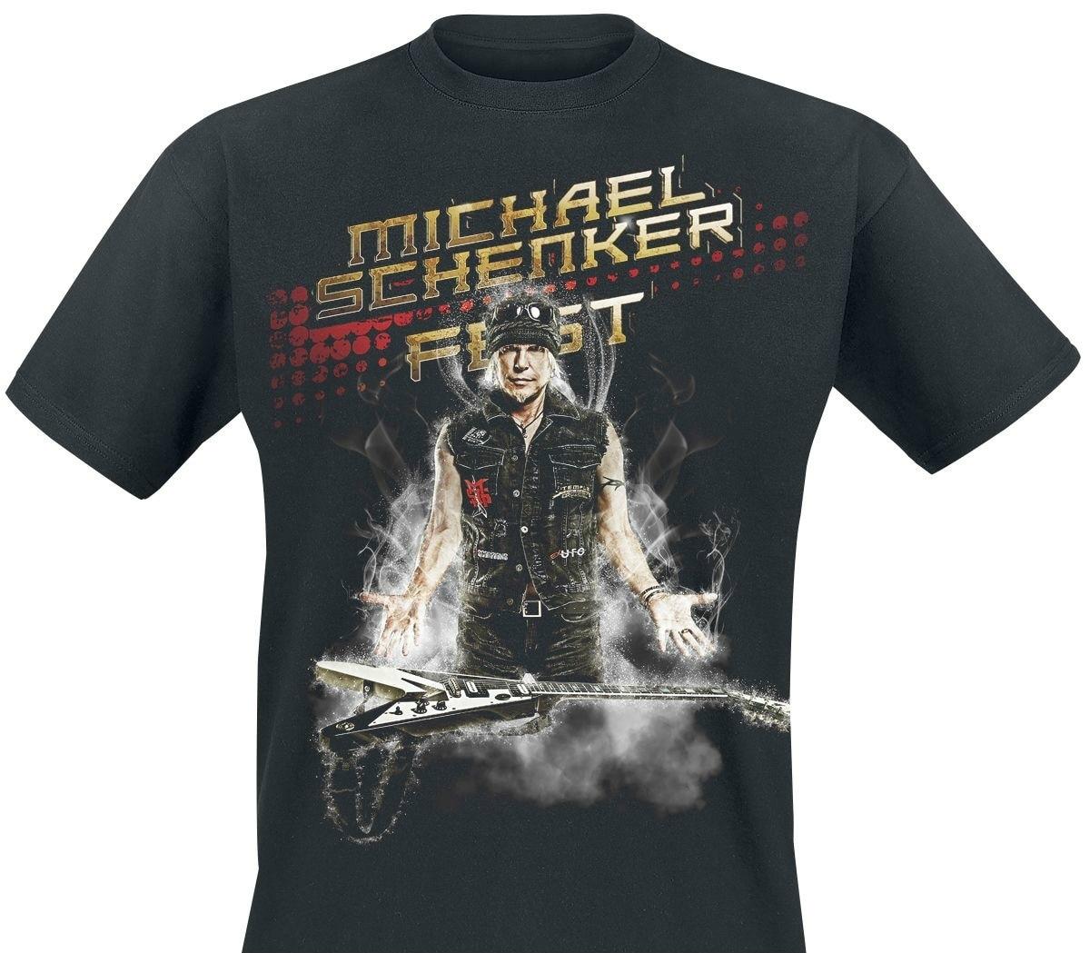 Camiseta masculina alemão wunderkind michael schenker fest engraçado t camisa novidade tshirt feminino