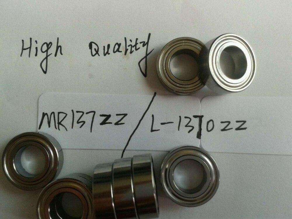 Глубокие шаровые подшипники MR137ZZ, 20 шт./лот, NMB Minebea, L-1370ZZ, 7*13*4 мм, ABEC-5, MR137ZZ